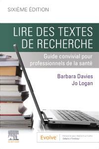 Lire des textes de recherche: Guide convivial pour professionnels de la santé, sixième édition