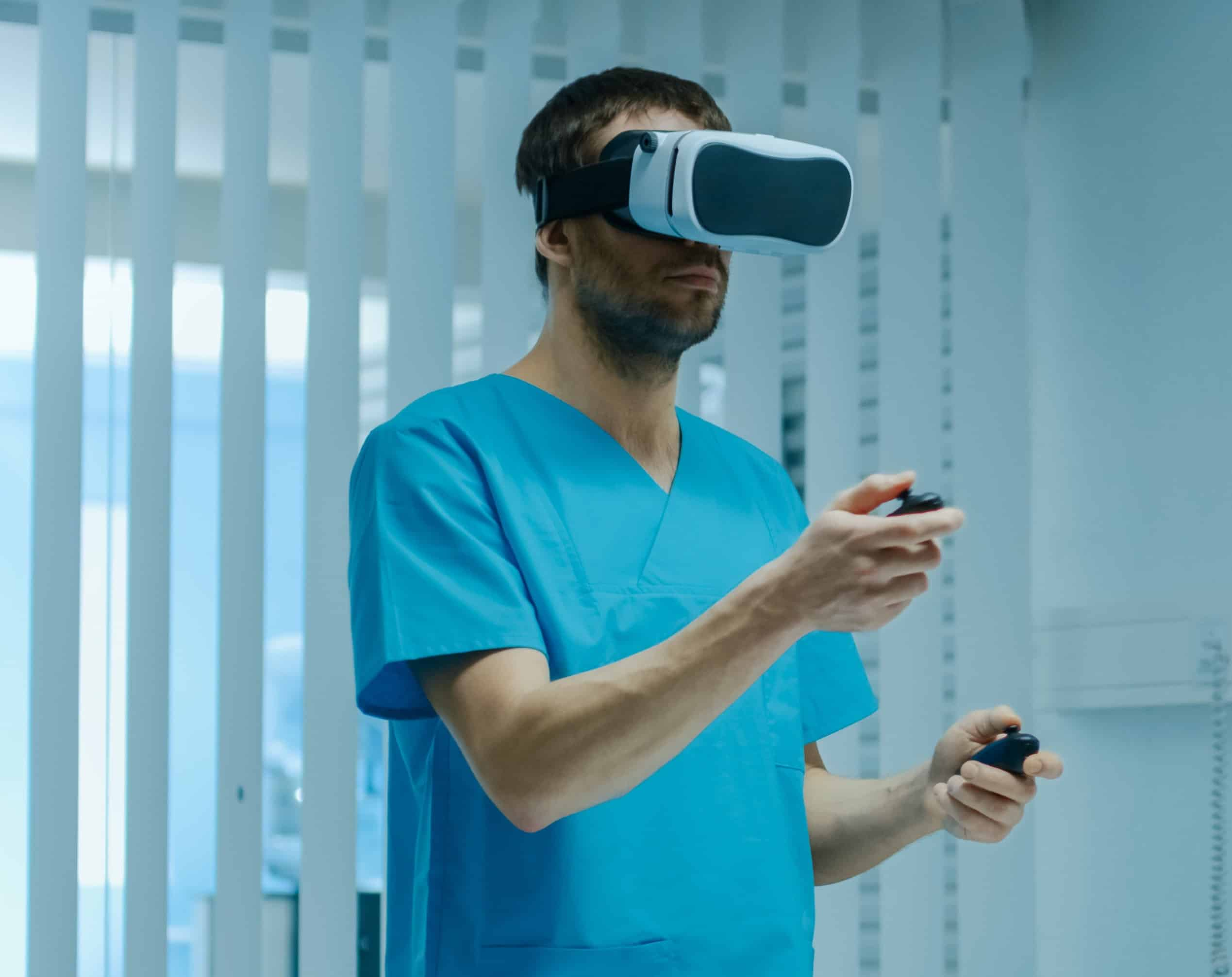 virtual reality simulation in healthcare