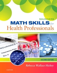 Saunders Math Skills for Health Professionals