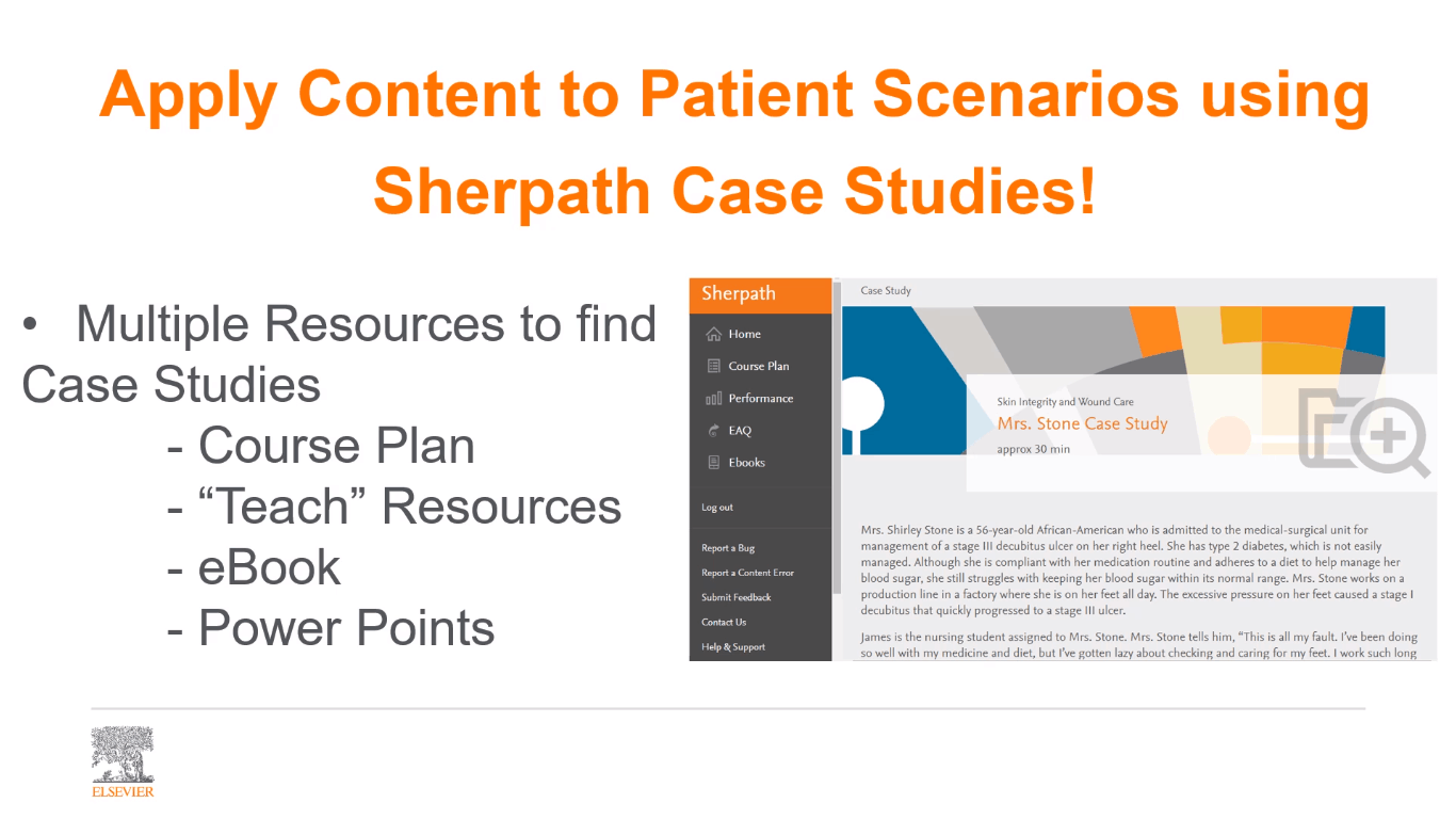 Using Sherpath In An Online Classroom Elsevier Education
